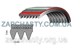 Ремень 1160 H8 EL / 1162 H7 EL Атлант  (резиновый)