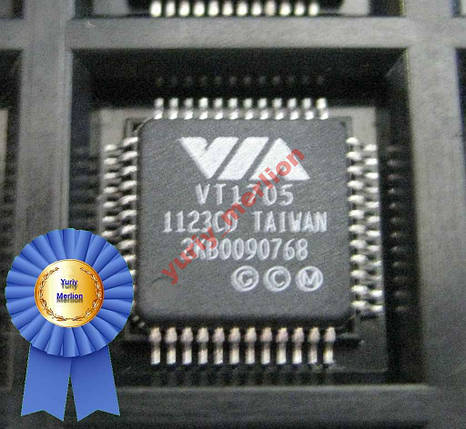 Микросхема Аудио кодек VIA VT1705, фото 2