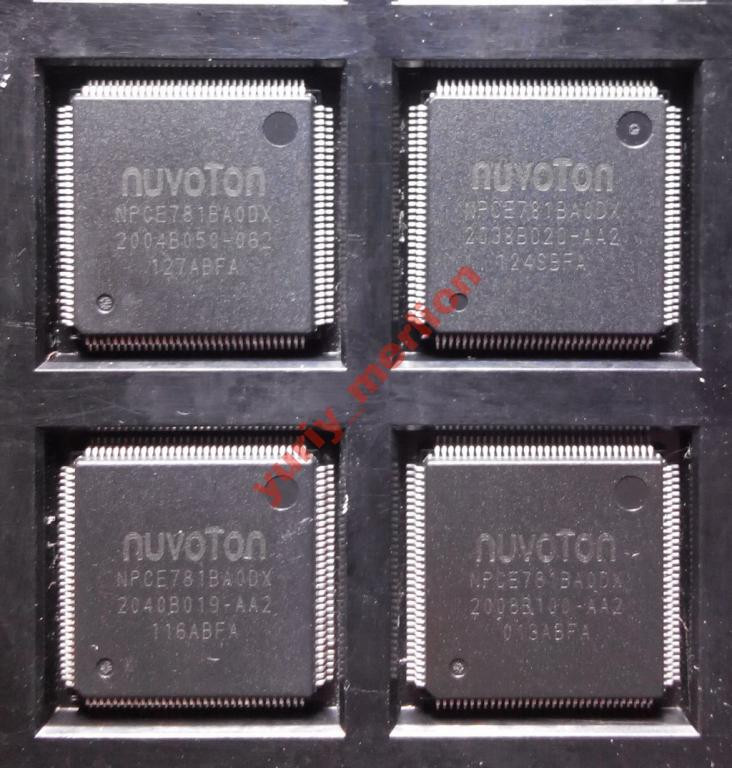 Мікросхема Nuvoton NPCE781BA0DX
