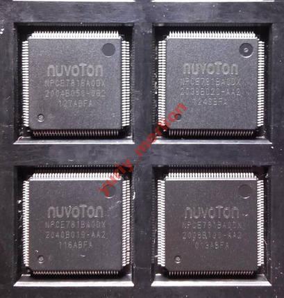 Мікросхема Nuvoton NPCE781BA0DX, фото 2