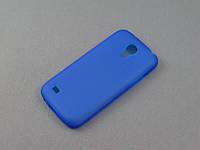 Чехол TPU  для Samsung Galaxy S4 Mini I9190 синий