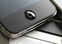 Black наклейка на кнопку home для iPhone iPad iPod