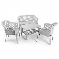 Италия Комплект садовой мебели Veranda белый