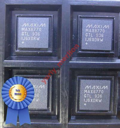 Микросхема MAX8770GTL, фото 2