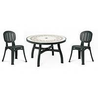 Италия Комплект садовой мебели NARDI (стол + 5 стульев)