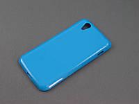 Чехол TPU  для Lenovo S960 голубой