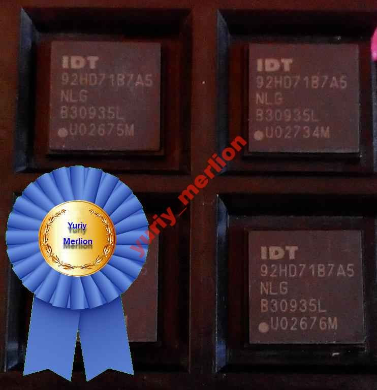 Микросхема IDT92HD71B7A5 ( 92HD71B7A5 )