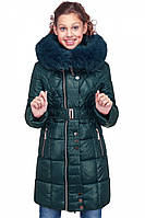 """Детская куртка """"Мирабель""""  зимняя с капюшоном"""
