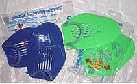 Лопатки для плавания пластиковые.