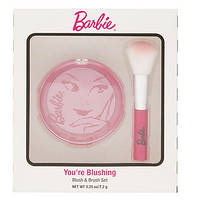 """Набор для макияжа румяна и кисть """"Барби"""" Barbie You're Blushing Blush & Brush Set, фото 1"""