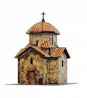 Картонная модель Церковь Кармравор 321 УмБум
