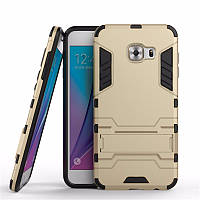 Чехол-накладка Hybrid с подставкой для Samsung Galaxy C5 SM-C5000 Gold