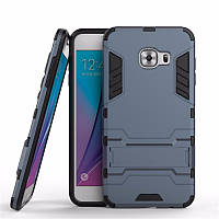 Чехол-накладка Hybrid с подставкой для Samsung Galaxy C5 SM-C5000 Dark Blue