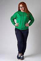 Спортивный костюм двухцветный: кофта  и штаны
