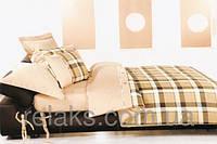 Постельное белье Колорит Premium Collection евроразмер Шотланка