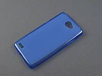 Чехол TPU  для LG Max X155 Bello 2 синий
