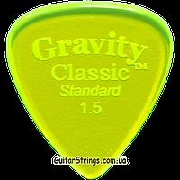 Медиатор Gravity Picks GCLS15P Classic Standard Polished 1.50 mm