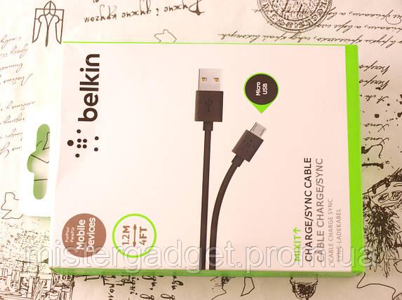 Usb Кабель Belkin для зарядки телефона MicroUsb, фото 2