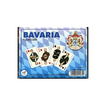 Комплект - игральные карты Piatnik Bavaria 2 колоды по 55 листов