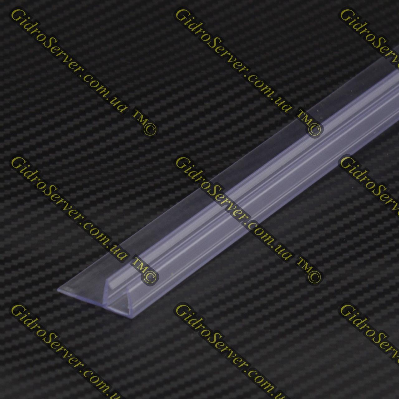Силиконовый уплотнитель для душевой кабины, гидромассажного бокса U-04.