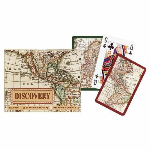 Комплект - игральные карты Piatnik Discovery 2 колоды по 55 листов