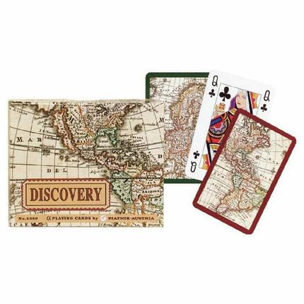 Комплект - игральные карты Piatnik Discovery 2 колоды по 55 листов , фото 2