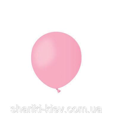 Шарик латексный 13 см. розовый пастель (А50-06), фото 2