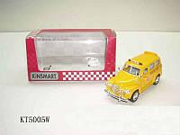 Модель автомобиля KINSMART Chevrolet Suburban School Bus 1950, 1:36