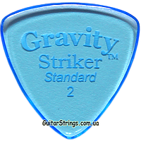 Медиатор Gravity Picks GSRS2P Striker Standard Polished 2.00 mm