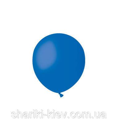 Шарик латексный 13 см. синий пастель (А50-46), фото 2