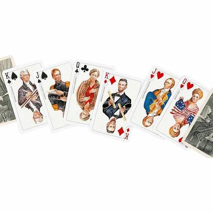 Комплект - игральные карты Piatnik Glorius America 2 колоды по 55 листов, фото 2