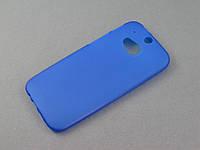 Чехол TPU для HTC One M8 синий