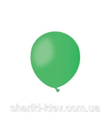 Шарик латексный 13 см. зеленый пастель (А50-12), фото 2