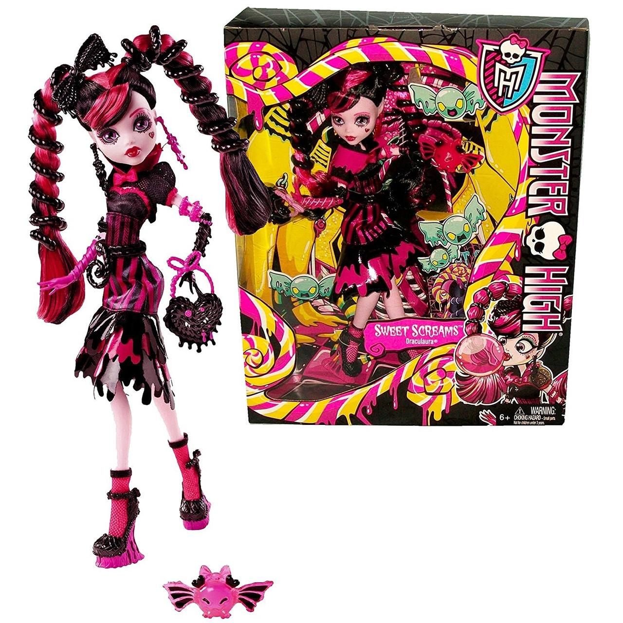 Кукла Дракулаура Сладкие Крики (Monster High Sweet Screams Draculaura)