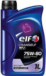Трансмиссионное масло  ELF Tranself NFJ 75W80 (1 Liter)