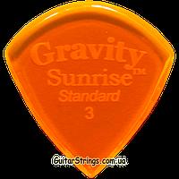 Медиатор Gravity Picks GSUS3P Sunrise Standard Polished 3.00 mm