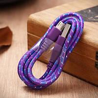 Тканевый кабель Iphone 5 5s 5c 6 6s 6 Plus №177