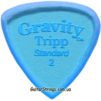 Медиатор Gravity Picks GTRS2M Tripp Standard Unpolished 2.00 mm