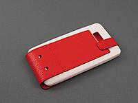 Чехол Illusion для HTC Desire 400 красный