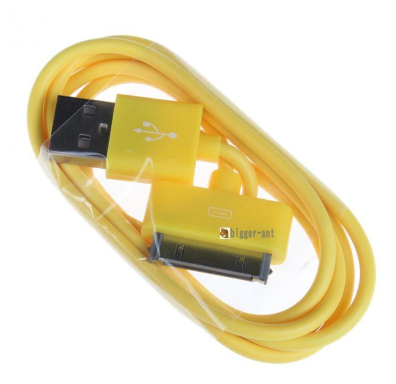 Цветной USB кабель для Iphone 3 3gs 4 4s Ipad №135
