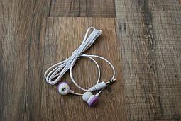 Вакуумні навушники фіолетові, №146
