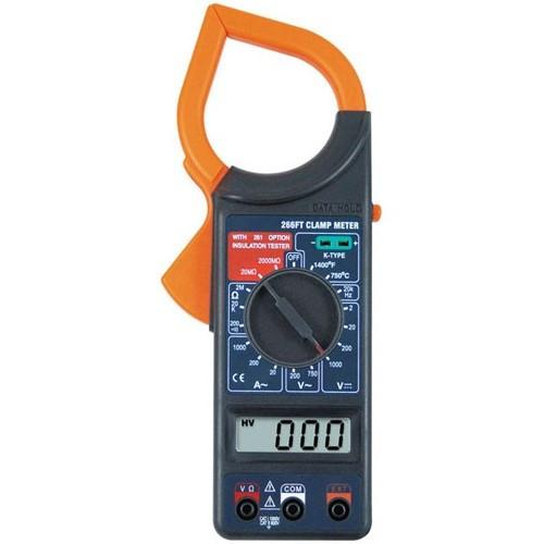 Тестер мультиметр клещи DT266FT, A251