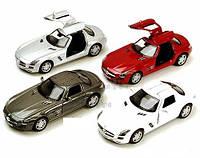 Модель автомобиля KINSMART Mercedes-Benz SLS AMG, 1:36
