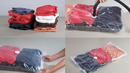 Вакуумные пакеты для одежды 70x100см, A172 5шт