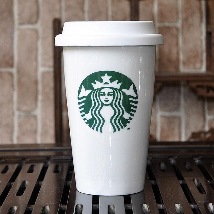 Термочашка чашка керамическая Starbucks, A96