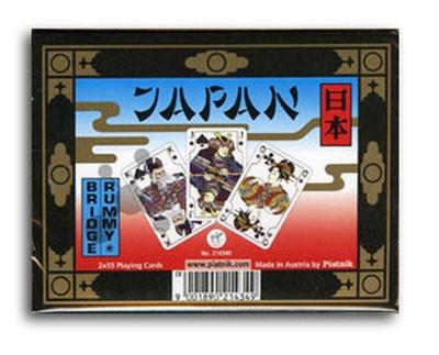 Комплект - игральные карты Piatnik Japan 2 колоды по 55 листов
