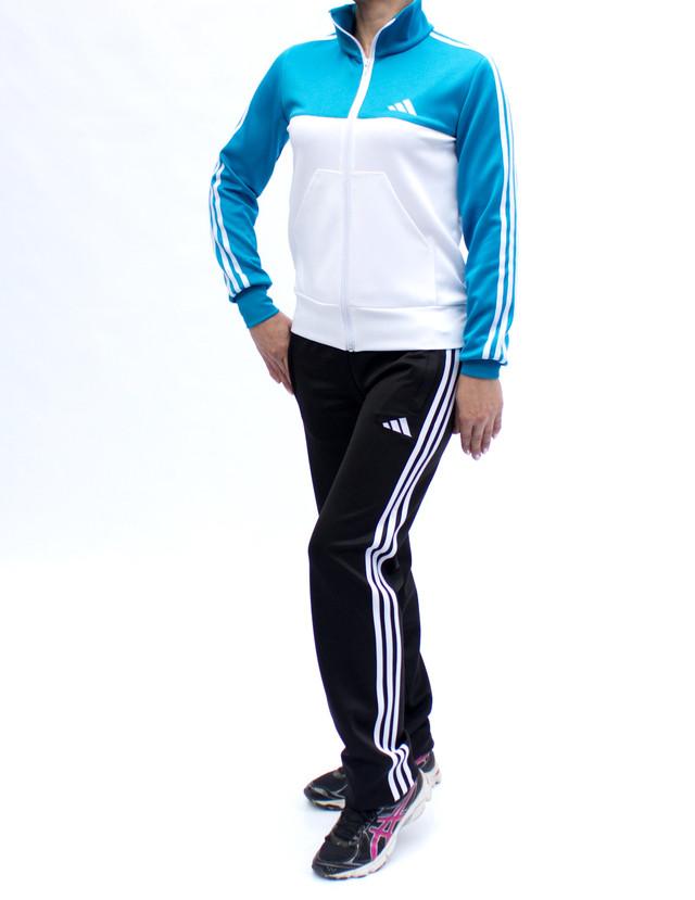 Модный спортивный костюм женский - стрейч-эластан