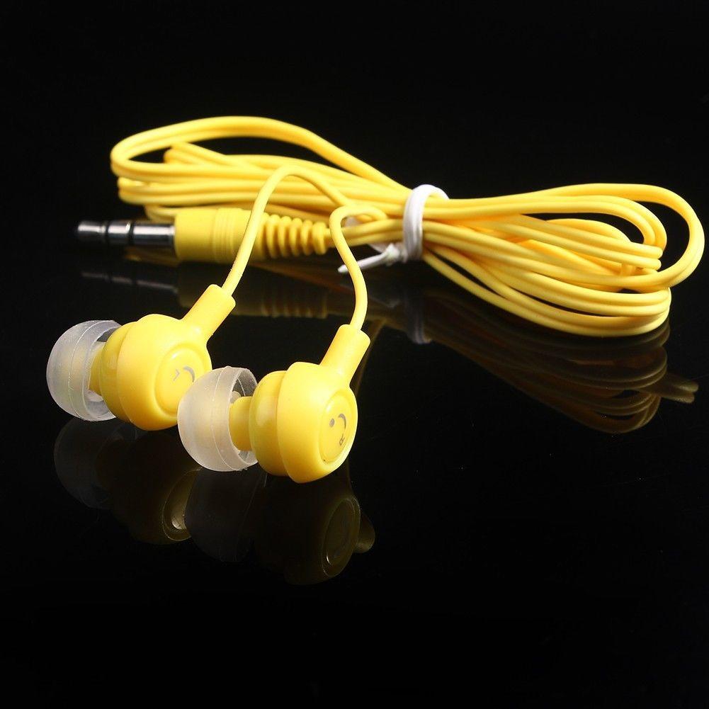 Вакуумні навушники смайлики, №138
