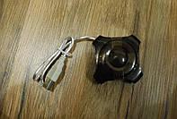USB Hub хаб 4 порта черный, №161, фото 1
