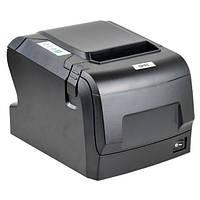 Трехпортовый POS 88 V чековый принтер с автообрезкой, термопринтер чеков до 80 мм